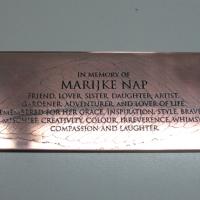 Marijke Nap Memorial Plaque