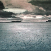 Takoe Tanabe, Malacca Strait at Dawn, 2004