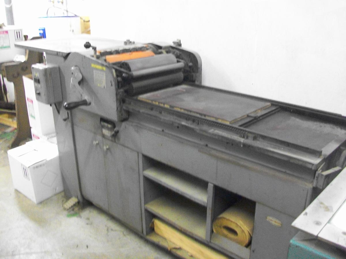 Vandercook for Sale – SOLD!!!