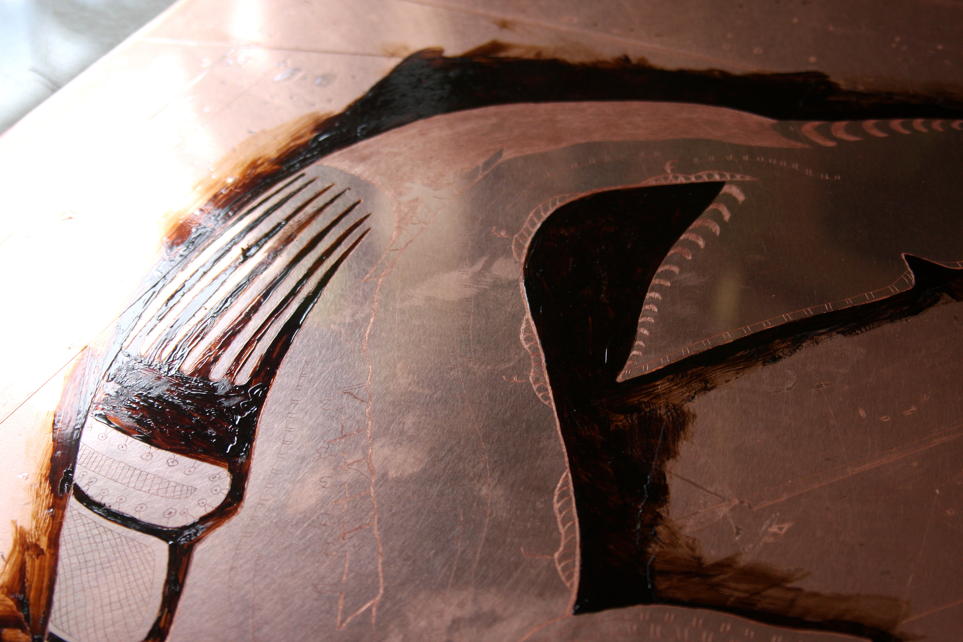 Bowhead Whale by Tim Pitsiulak