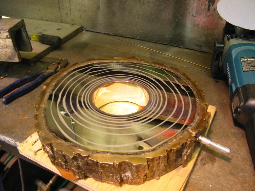 I.E. Creative Custom Etching-Tree Rings