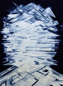 Untitled (BLUE) by Erik Olson, 2014