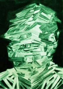 Untitled (GREEN) by Erik Olson, 2014
