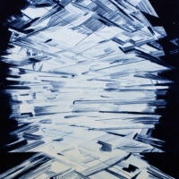 Erik Olson, Untitled (Blue), 2014