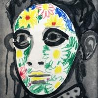 Erik Olson, Face Paint, Stateproof 2/5, 2016