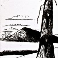 Lawrence Paul Yuxweluptun, Indigenous Landscape, 1997