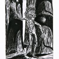 Lawrence Paul Yuxweluptun, Night Dance, 1997